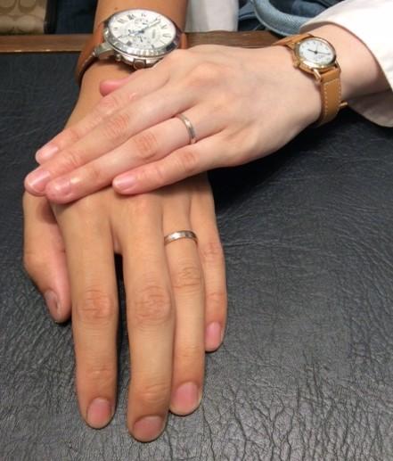お二人のご結婚指輪『フィッシャー』