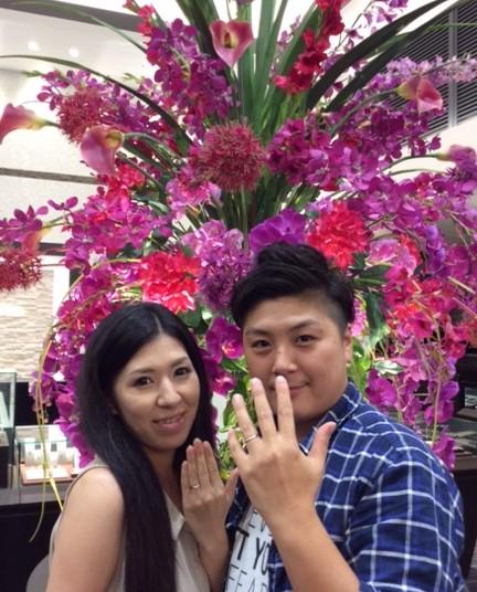 『プティ』のご結婚指輪💍