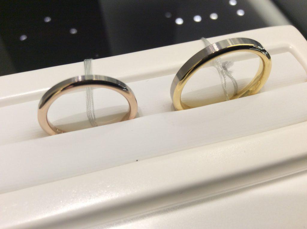 シンプルでスタイリッシュ✨ニューヨークニワカの結婚指輪をご紹介💝