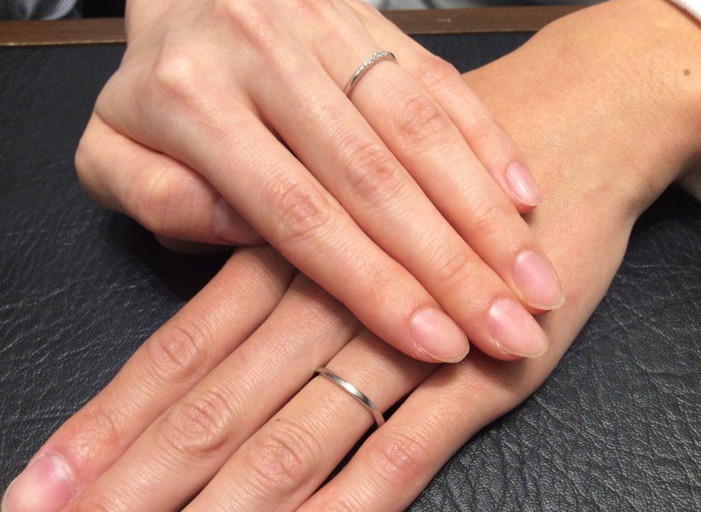 結婚指輪ポンテヴェキオのブリーザをお渡しさせて頂きました!(五泉市/藤田友真様・衣梨様)