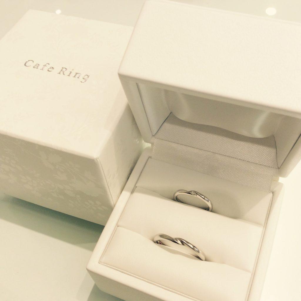 結婚指輪カフェリングの『トロワノワ』をご成約(新潟市/K様ご夫婦様)
