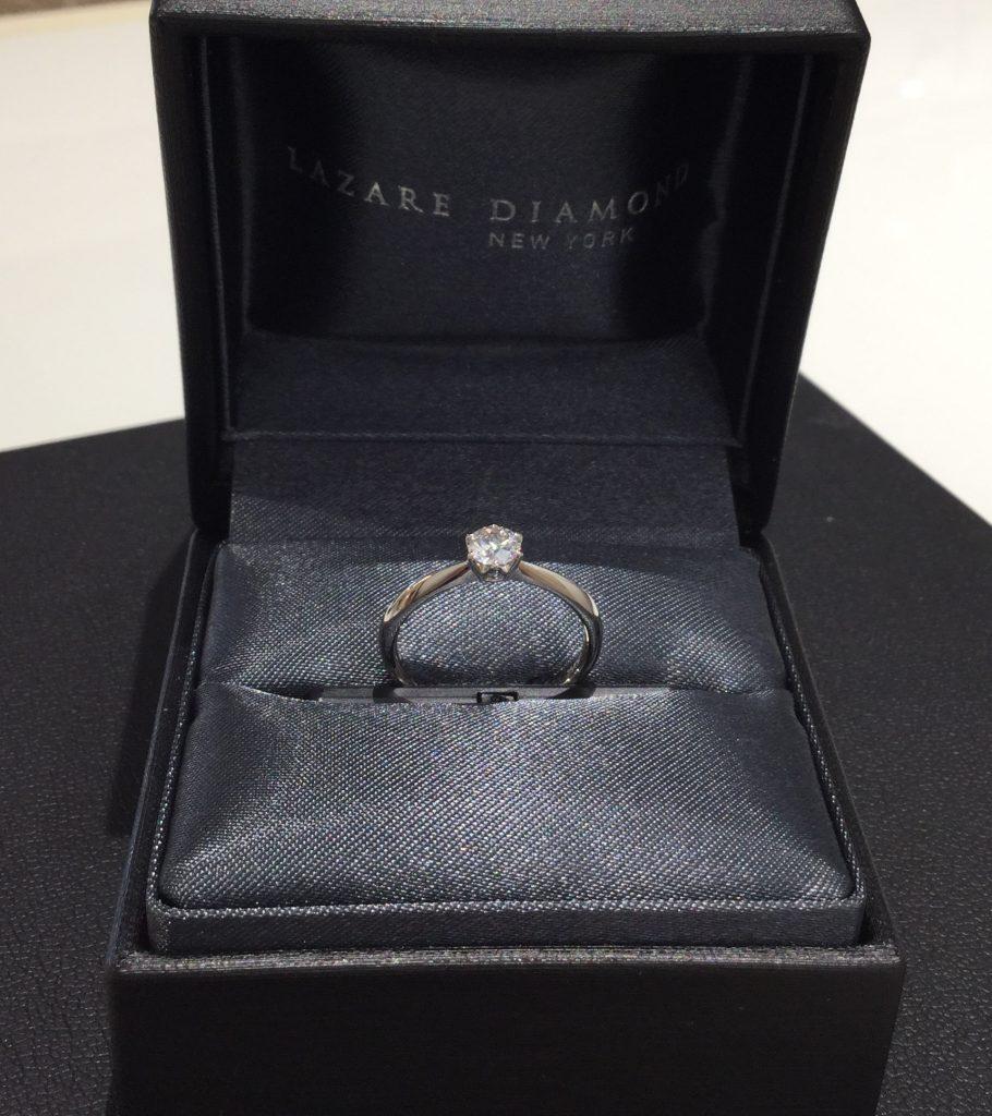 ラザールダイアモンド 婚約指輪