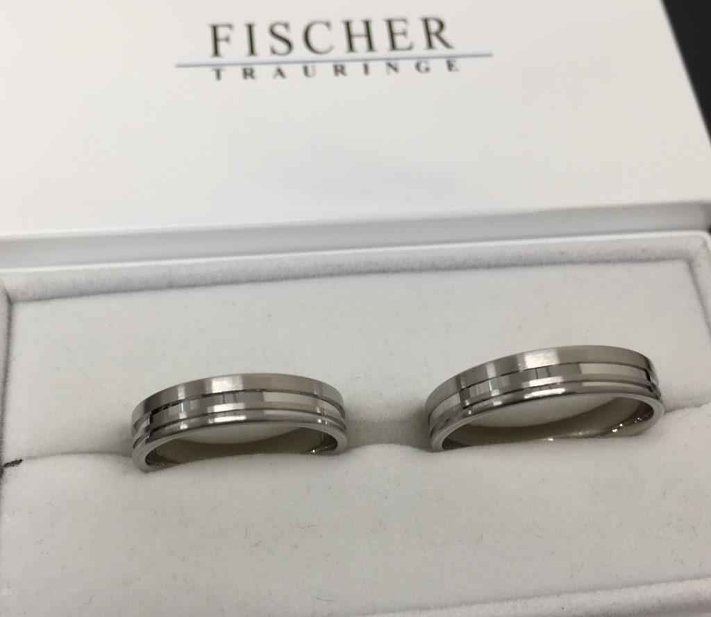 伝統技法で作るフィッシャーの結婚指輪をご成約(新潟市/池田和広様・真希様)