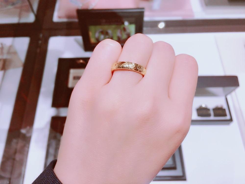 ハワイアンジュエリー🌺イモータルの結婚指輪💍💕