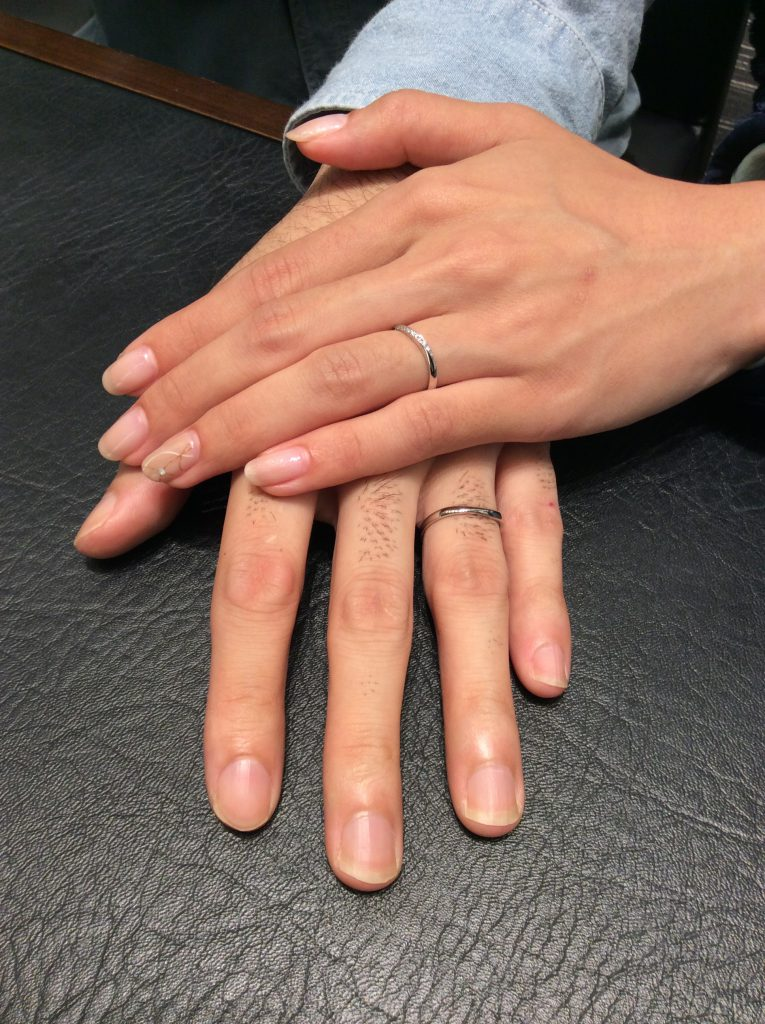 クワンドゥマリアージュの結婚指輪「フラール」✨(新潟市中央区/T様・K様)