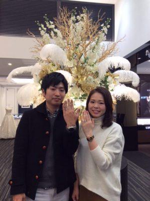 ラブボンドの結婚指輪「ジュピター」(熊谷市・加茂市/A様ご夫婦)