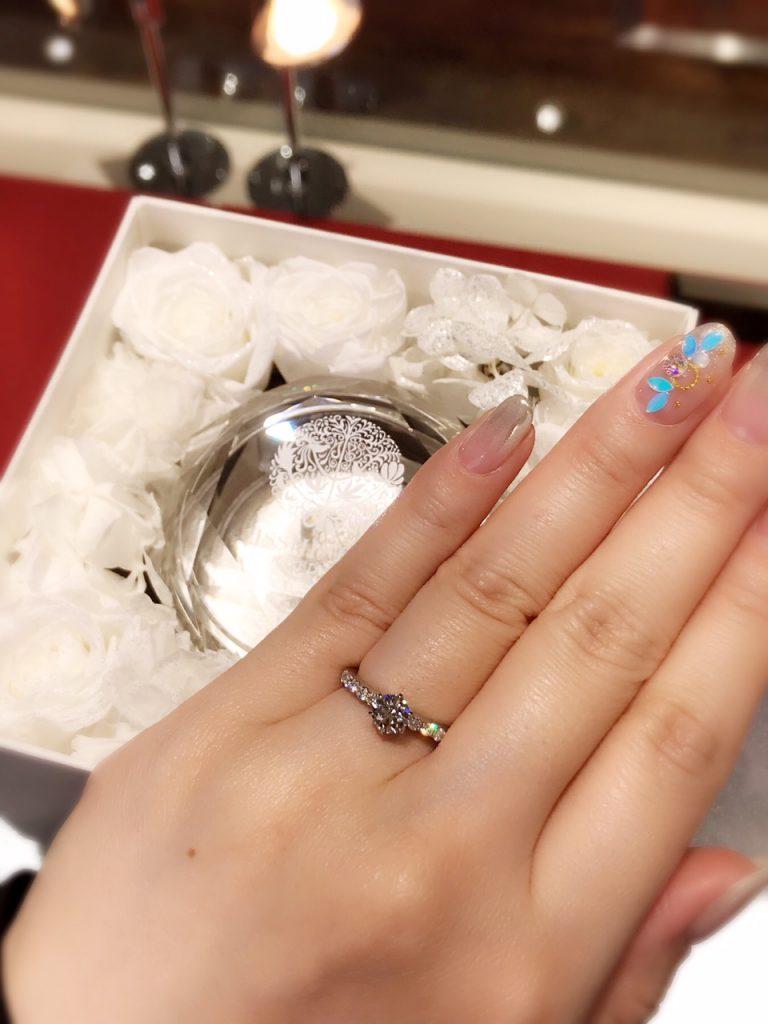 婚約指輪 ラザールダイヤモンド