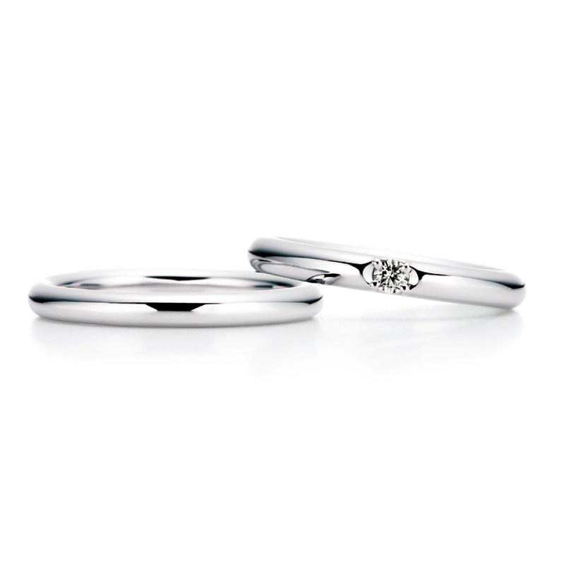 シンプルイズザベスト!ロイヤルアッシャーの結婚指輪👀❕