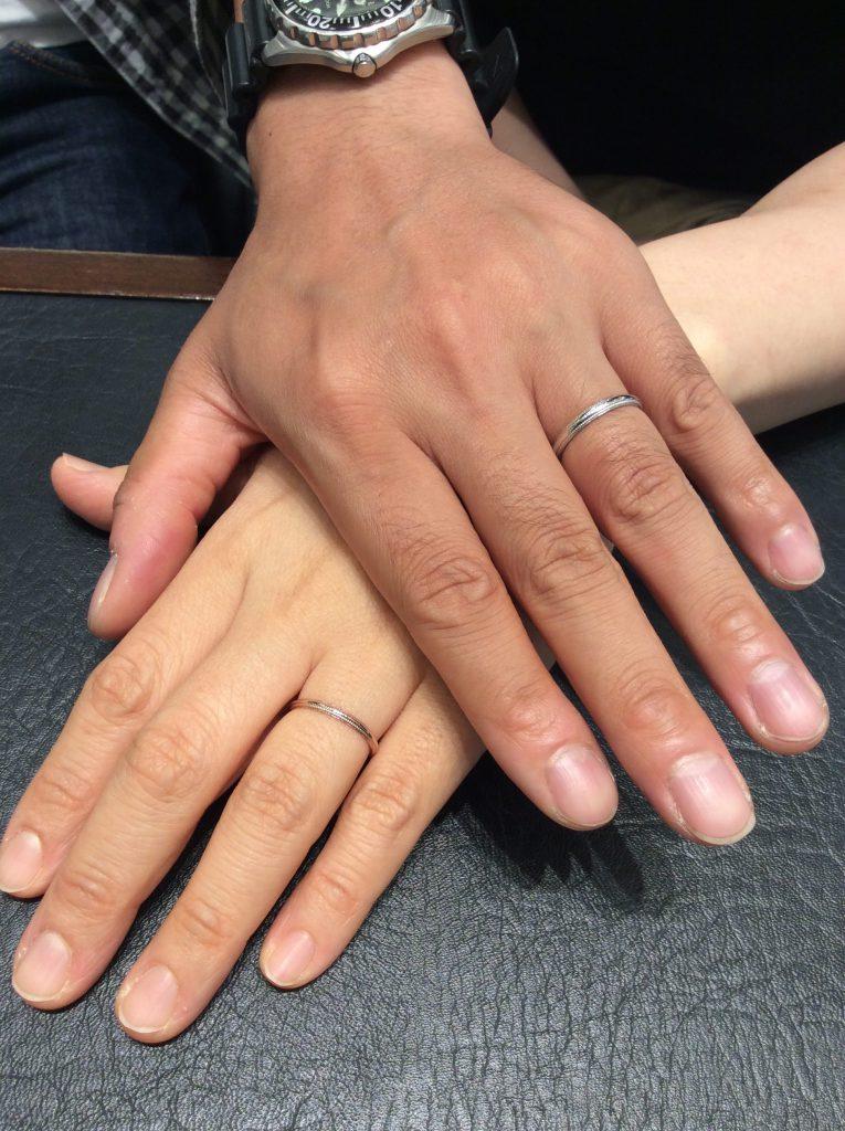 俄 ニワカ 結婚指輪