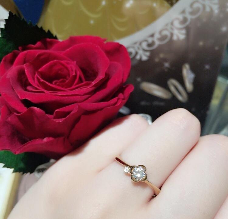 新潟で大人気🌟ディズニーの婚約指輪🌹〜美女と野獣〜