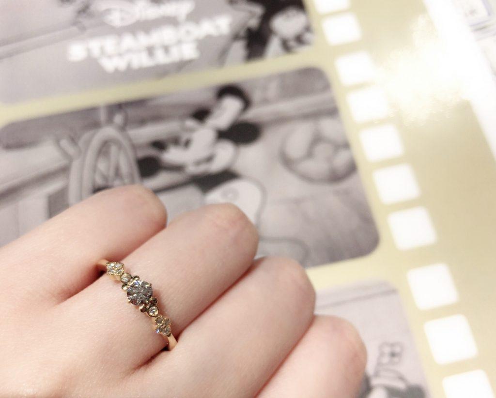 新潟で大人気🌟ディズニーの婚約指輪🛳スチームボート ウィリー