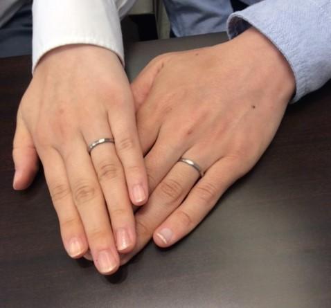 俄『京杢目 長閑』の結婚指輪