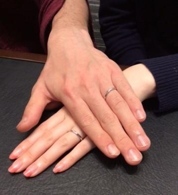 クッカクッカの結婚指輪『キエロ』