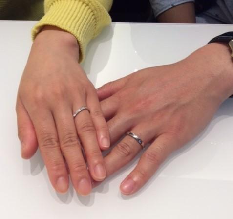 俄『花麗』のご結婚指輪