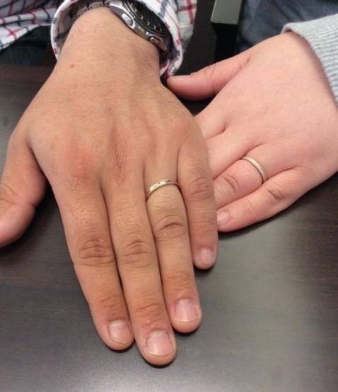 ルシエのご結婚指輪『パルファン』