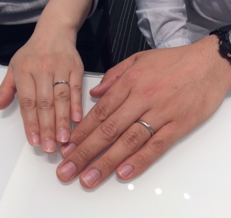 Cafe Ring『リュミエール』のご結婚指輪