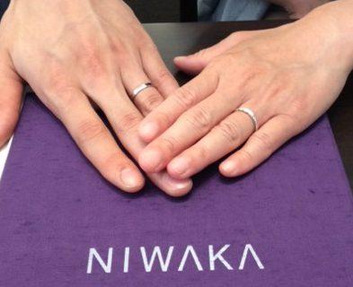 俄のご結婚指輪『花麗』✨