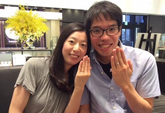 ルシエの結婚指輪『アリア&クロシエ』