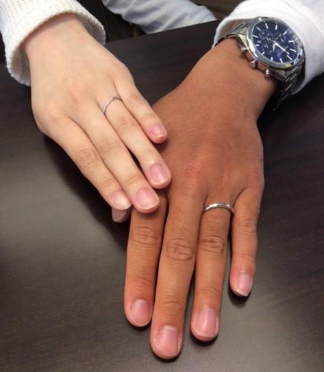 俄のご結婚指輪 『せせらぎ』