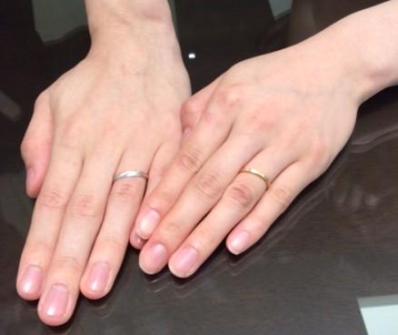 『サムシング ブルー』&『LUCIE』ご結婚指輪