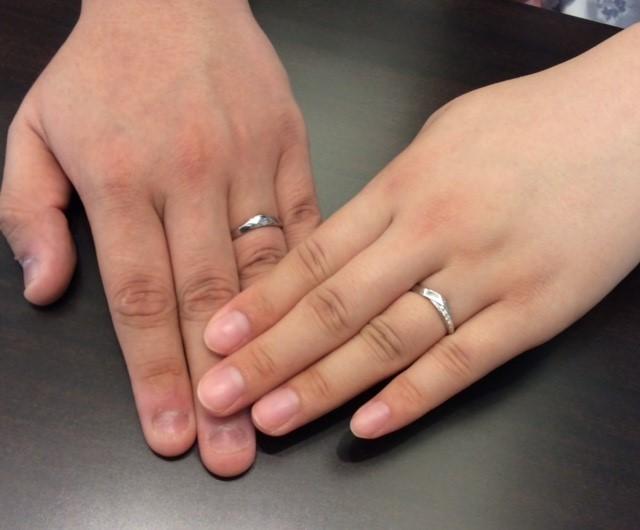 俄の結婚指輪✨ 『単衣』