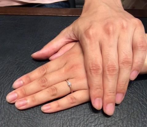 クッカ🌸クッカの婚約指輪『カステヘルミ』