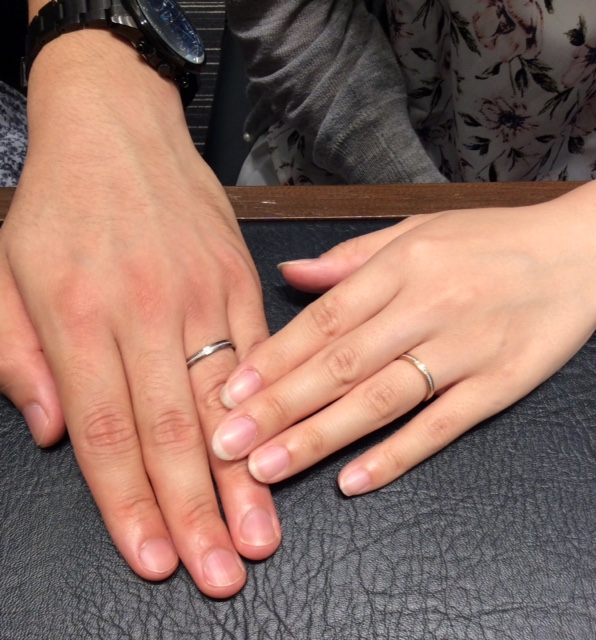 LUCIE [ルシエ] の結婚指輪 『Colline』