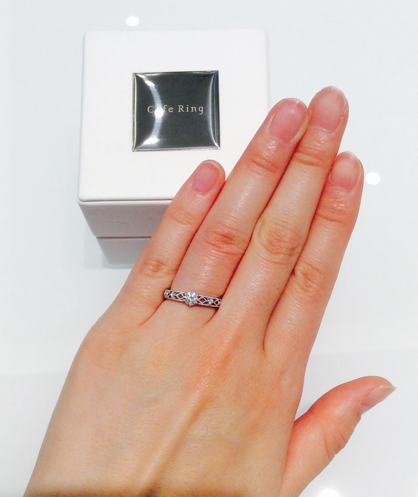 Cafe Ring『テ・ルージュ』の指輪💍✨