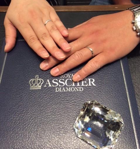 真っ白のダイヤモンドに魅かれて…