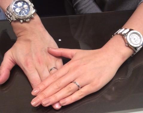 俄のご結婚指輪『梟』✨
