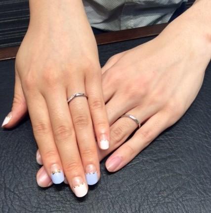 ポンテヴェキオの結婚指輪『プロメッサ』💍