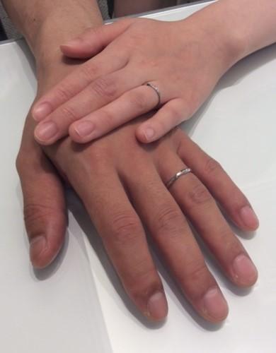 『ポンテヴェキオ×ロイヤルアッシャー』のご結婚指輪