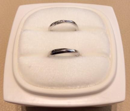 NIWAKAのご結婚指輪『綺羅&朝葉』