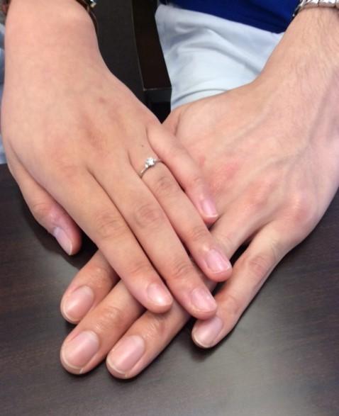 LUCIE(ルシエ)のご婚約指輪 『セリーン』💍