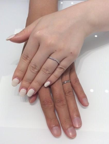 ポンテヴェキオのご結婚指輪『モルビド&プロメッサ』