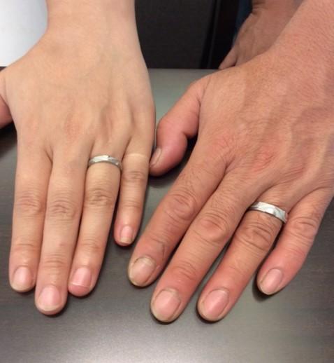 俄のご結婚指輪 『風神』