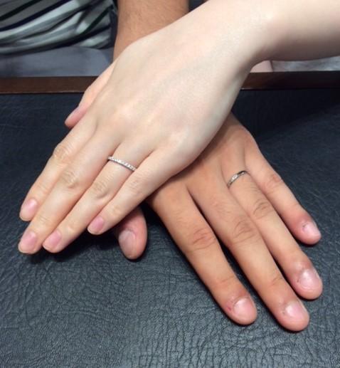 T様&K様のご結婚指輪『ポンテヴェキオ&ロイヤルアッシャー』