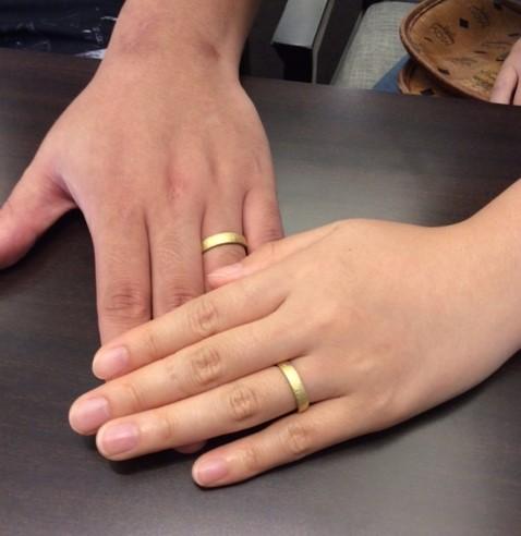 俄のご結婚指輪 『長次郎』