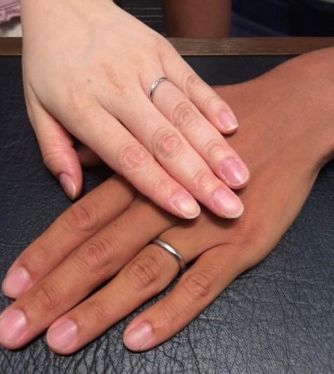 LUCIEの『リファージュ』結婚指輪✨