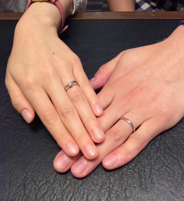 ポンテヴェキオの結婚指輪『ミルアモーレ』✨(三条市・新潟市/和貴様&優様)