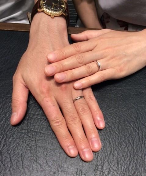 LUCIE(ルシエ)のご婚約指輪・ご結婚指輪『ラブリー&アリア』