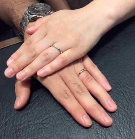 Cafe Ring のご結婚指輪『スーム』