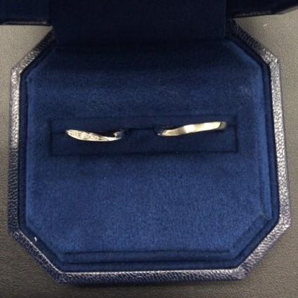 ‐お二人のこだわり‐ アンティック&ロイヤルアッシャー の結婚指輪 (新潟市/K様 M様)