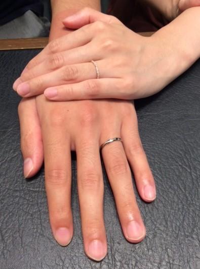 ルシエのご結婚指輪 『クロシエ&アリア』