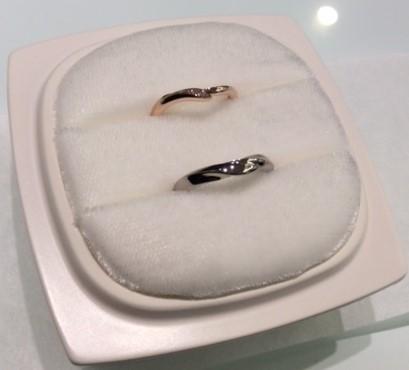 俄のご結婚指輪 『初桜』