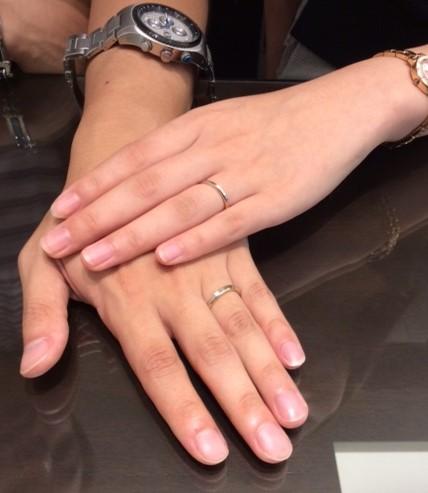N.Y.NIWAKAのご結婚指輪『ハーモニー』