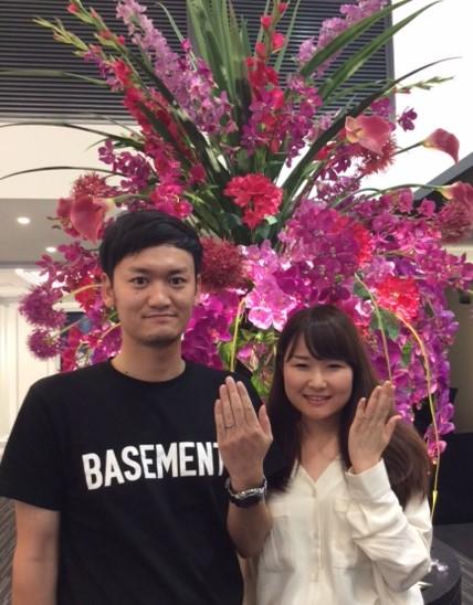 ルシエのご結婚指輪 『ロズレ』(福島県 / T様・S様)