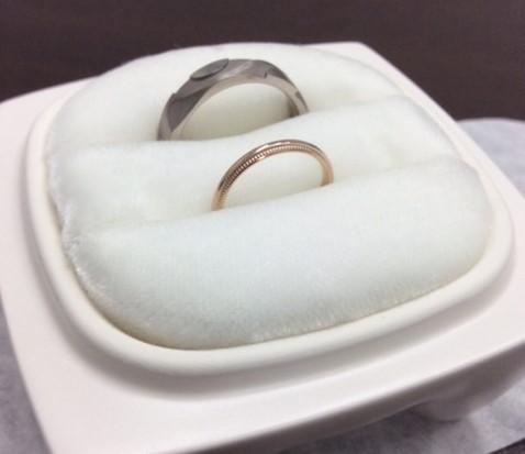 俄のご結婚指輪 『風神・ことほぎ』(聖籠町・胎内市/杉沢様)