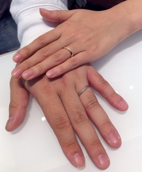 運命のご結婚指輪『プルーブ』💍(新潟市 / Y様&A様)