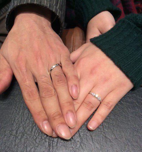 プリマポルタのご結婚指輪 『プリエ』 (T様&S様)